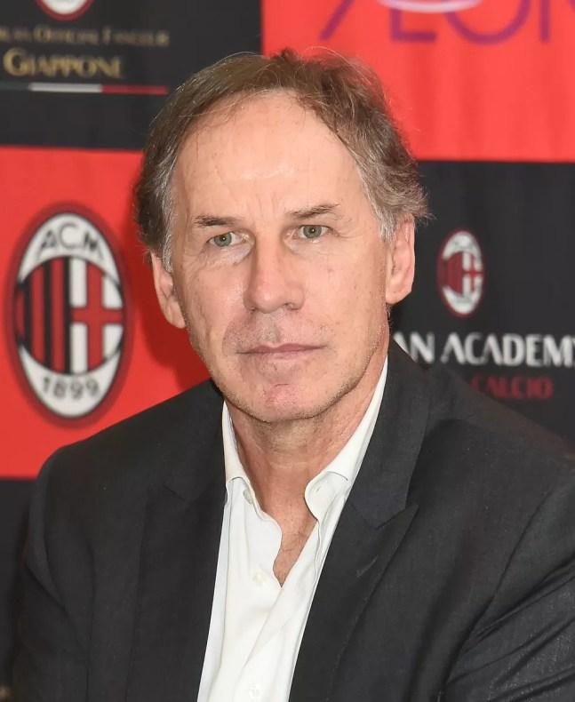 Franco Baresi hoje é vice-presidente de honra do Milan — Foto: Getty Images
