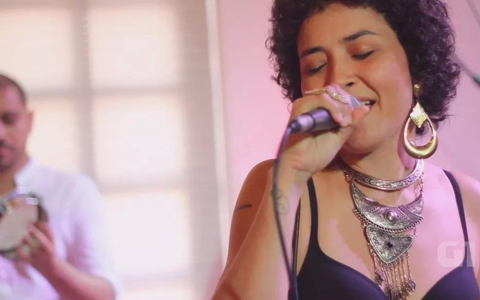 Polyana Resende é atração no Festival Brasil Sabor (Foto: Reprodução/G1)
