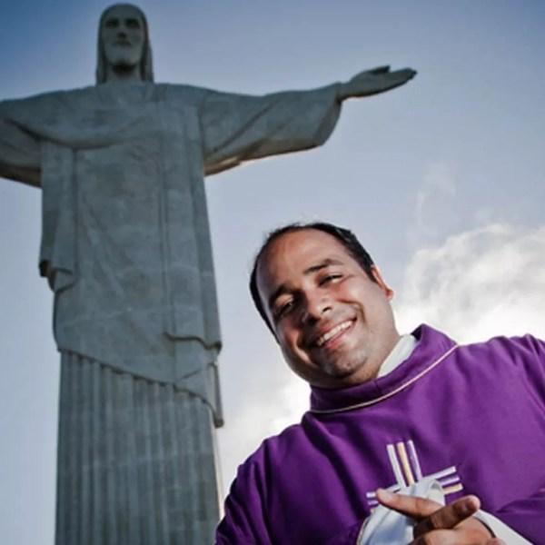 Padre Omar, reitor do Santuário — Foto: Divulgação / Shalom RJ