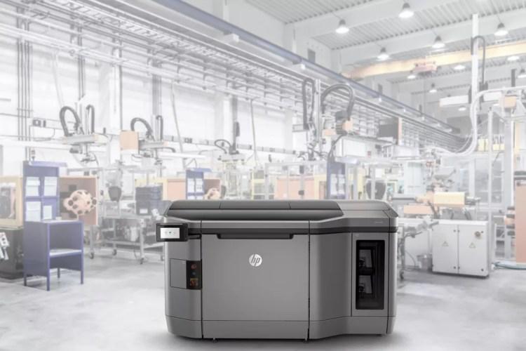 As primeiras impressoras 3D da HP no Brasil estão instaladas em Sorocaba. O modelo é da série 4200. — Foto: Divulgação/ HP