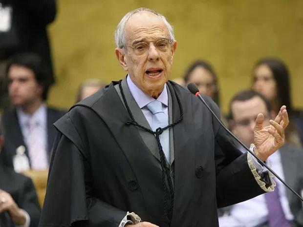 Márcio Thomaz Bastos, defensor de José Roberto Salgado, ex-diretor do Banco Rural, no julgamento do mensalão, em 8 de agosto de 2012 (Foto: Nelson Jr./SCO/STF)