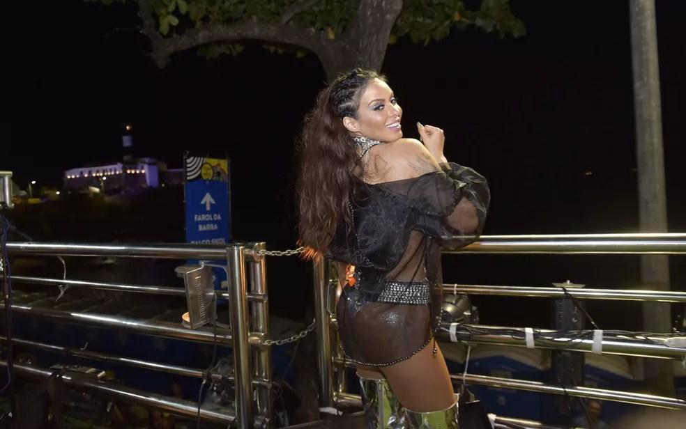Alinne Rosa na Barra — Foto: Elias Dantas/Ag. Haack