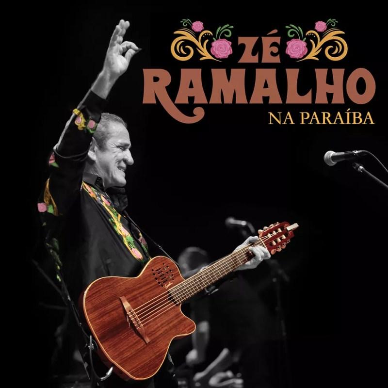 Capa do álbum ao vivo 'Zé Ramalho na Paraíba' — Foto: Rafael Passos