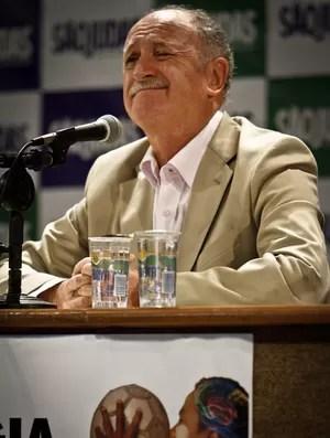 Felipão Scolari palestra universidade (Foto: Ale Vianna/Agência Estado)