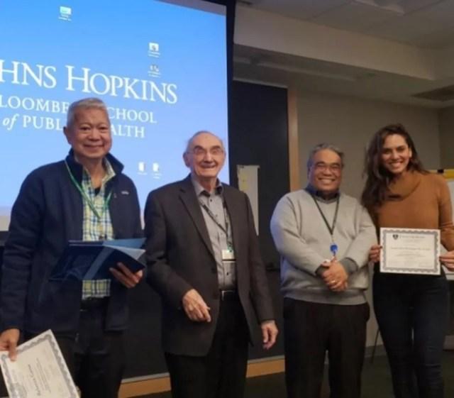 Luana Araújo possui um mestrado em Saúde Pública pela universidade Johns Hopkins Bloomberg, nos Estados Unidos. — Foto: Reprodução / Instagram