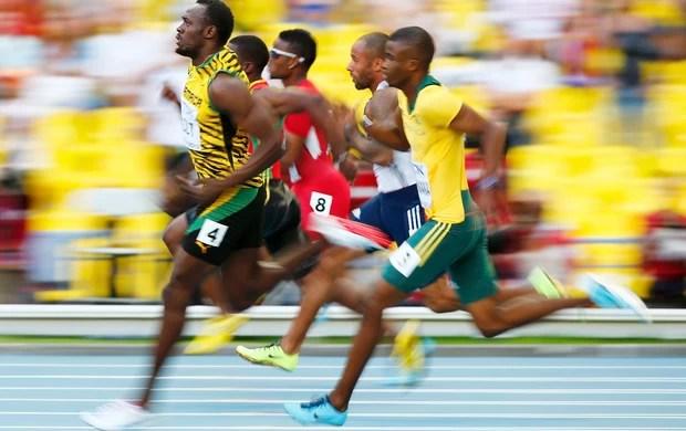 usain bolt semifinal dos 200m mundial de atletismo moscou (Foto: Reuters)