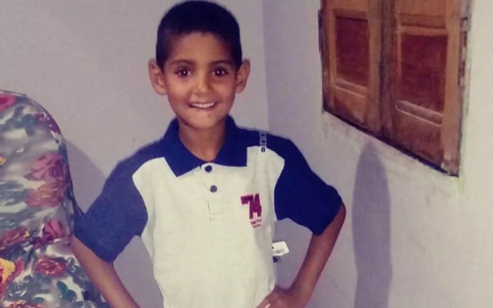 Ryan Coutinho, aos 8 anos — Foto: Arquivo pessoal