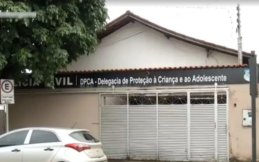 Delegacia de Proteção à Criança e ao Adolescente investiga a denúncia — Foto: Reprodução/TV Anhanguera