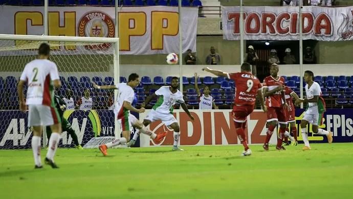 CRB x Boa Esporte, no Rei Pelé (Foto: Ailton Cruz/ Gazeta de Alagoas)