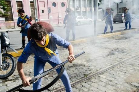 Sociedade dos Bacamarteiros do Cabo integra a lista de patrimônios vivos de Pernambuco (Foto: Jan Ribeiro/Secult-PE/Divulgação)
