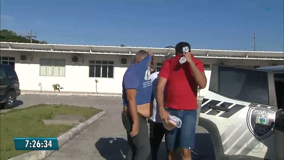 Major está entre os presos em operação contra clonagem de veículos em João Pessoa (Foto: Reprodução/TV Cabo Branco)