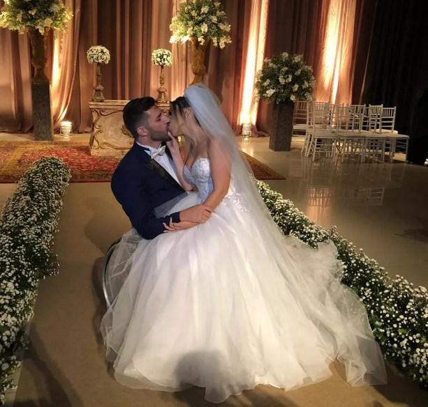 Casal se conheceu em 2017 em um aplicativo de relacionamento — Foto: Cia Sinfônica/ Divulgação