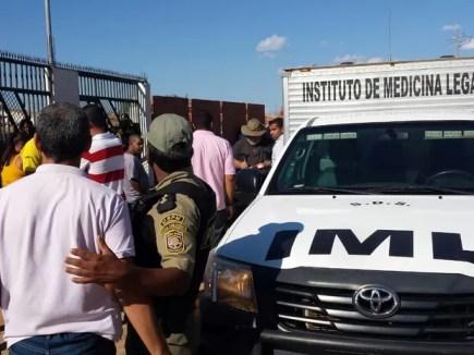 Presidiário em regime semiaberto é morto em Petrolina (Foto: Amanda Franco/G1)