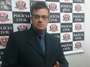 Delegado Alceu, que investiga o caso (Foto: Marcos Lavezo/G1)
