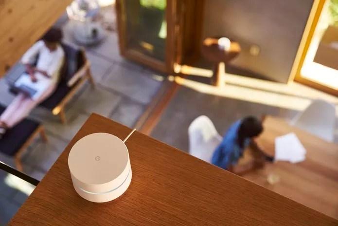 Google WiFi quer popularizar redes mesh dentro de casa (Foto: Divulgação/Google)