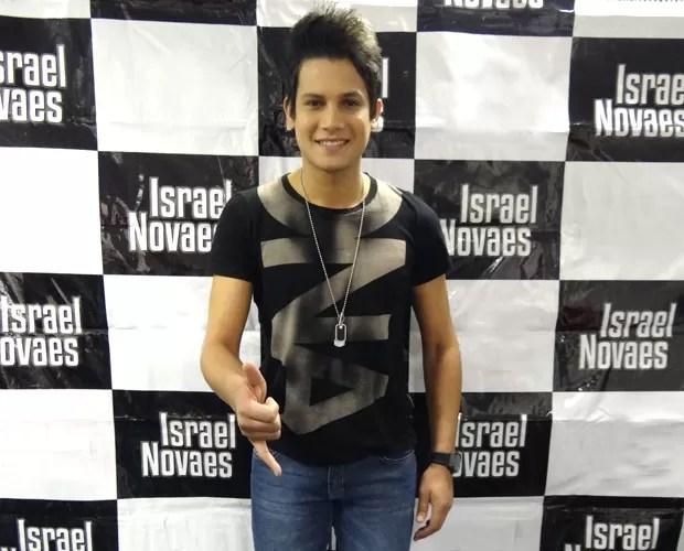 Israel Novaes (Foto: Domingão do Faustão / TV Globo)