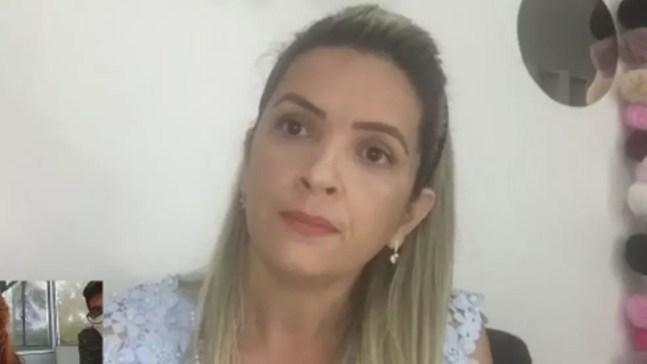 Comerciante Tatyana Vieira, mulher da primeira vítima a morrer por Covid-19 no Amazonas — Foto: Reprodução