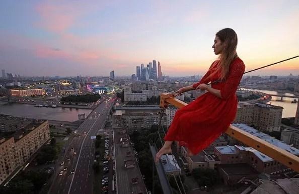 Foto em Moscou, capital da Rússia