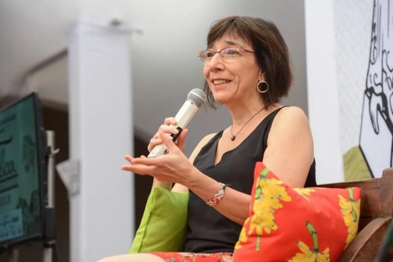 Noemi Jaffe na Flica — Foto: Ricardo Prado/Divulgação