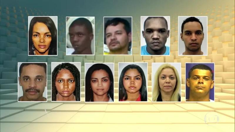 Onze pessoas foram denunciadas pela morte do pastor Anderson; 9 são da família do casal — Foto: Reprodução/TV Globo