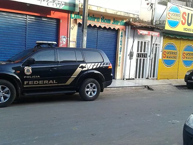 PF faz busca na sede da Secretaria de Agricultura de Bom Jardim (Foto: Divulgação / PF)