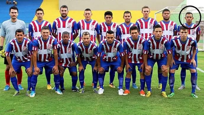 São Francisco, time da segunda divisão do futebol acreano (Foto: Francisco Dandão/Arquivo pessoal)