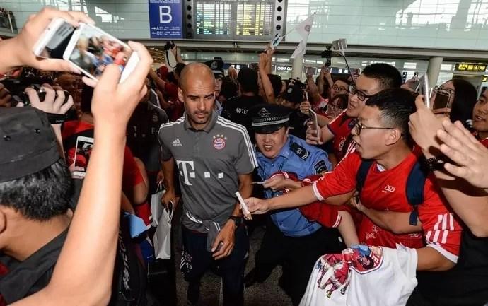 Bayern Guardiola China (Foto: Reprodução)