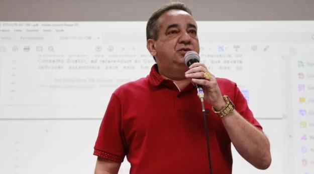 Marcos Barbosa reconhece importância de Marta, mas alega a ilegalidade do projeto de lei — Foto: Douglas Araújo/Ascom CRB