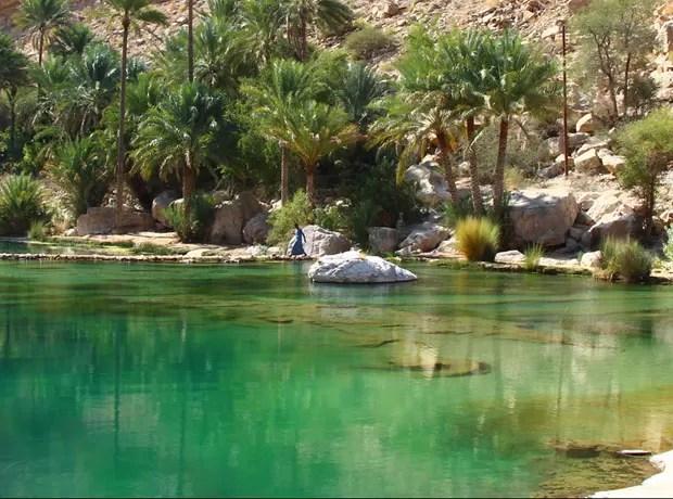O oásis Wadi Natural representa a utilização harmoniosa e equilibrada dos recursos naturais, uma verdadeira arquitetura ambiental