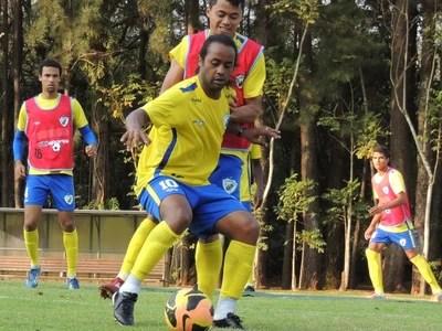 Treino Londrina Celsinho (Foto: Pedro A. Rampazzo/Site oficial do Londrina)