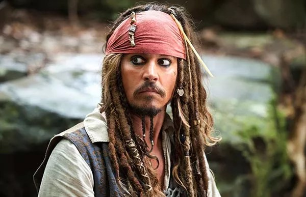 Johnny Depp as Jack Sparrow in Pirates of the Caribbean (Photo: Disclosure)