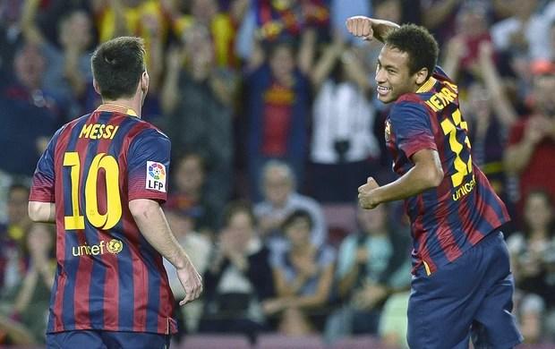 Neymar gol Barcelona contra Real Sociedad (Foto: AFP)