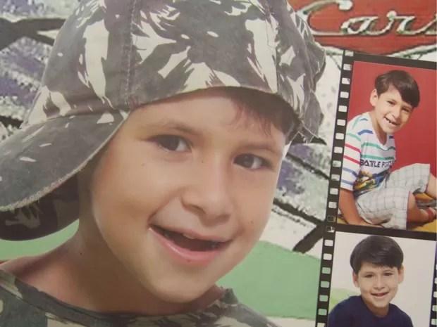 Menino de 9 anos encontrado morto tinha autismo (Foto: João Laud/RBS TV)