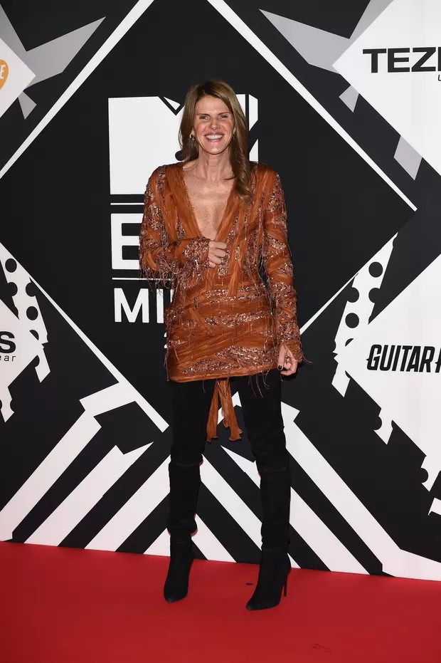 Anna Dello Russo no MTV EMA 2015 (Foto: Getty Images)