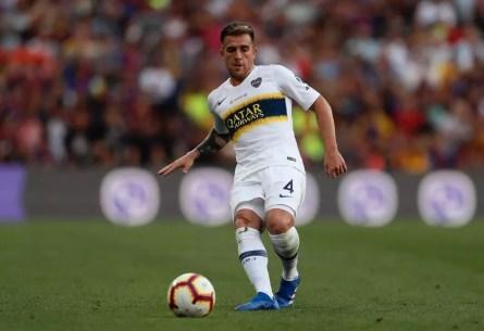 Buffarini é jogador do Boca Junior e ainda pode render dinheiro ao São Paulo — Foto: Reprodução/Twitter