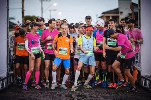Largada da Mizuno Uphill Marathon de 2014
