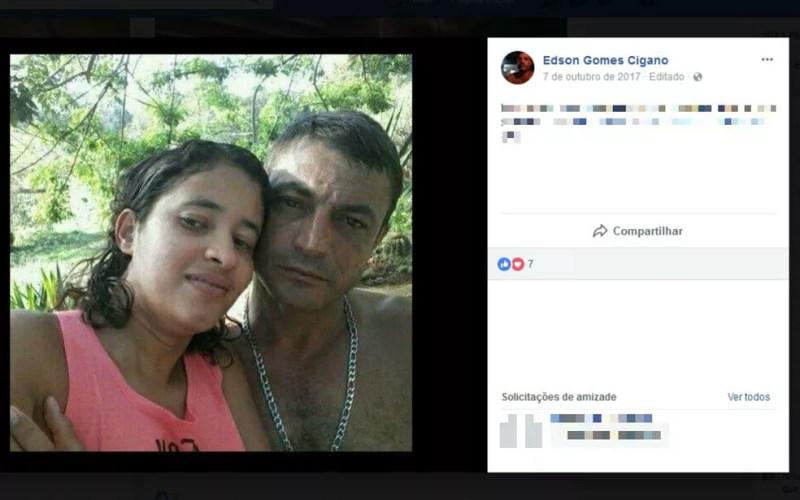 Vítima foi morta por ciúme em Tanhaçu, no sudoeste da Bahia (Foto: Reprodução/Facebook)