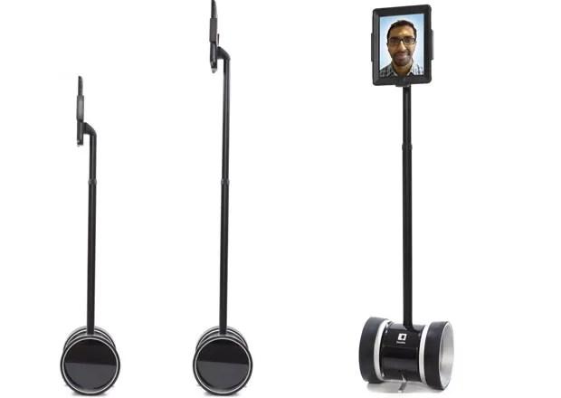 Double é robô que usa iPad para, por meio de teleconferência, levar usuário para qualquer lugar (Foto: Divulgação)
