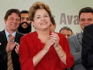A presidente Dilma Rousseff em evento em Varginha/MG nesta quarta-feira (7) (Foto: Roberto Stuckert Filho/Presidência)