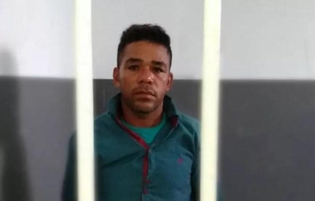 Lourival Correa Cardoso foi preso nesta quinta-feira (23) por suspeita de estuprar adolescente de 15 anos no MA. — Foto: Divulgação/Secretaria de Segurança Pública do Maranhão (SSP-MA)