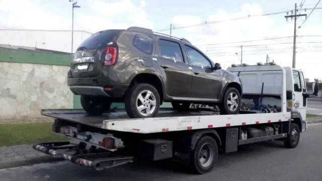 Motorista com CNH vencida tem carro recolhido com R$ 139 mil em débitos, diz Setran — Foto: Divulgação/Setran