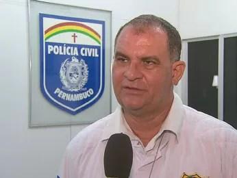 Delegado João Furtado disse que corpo tinha marcas de agressão (Foto: Reprodução/TV Globo)