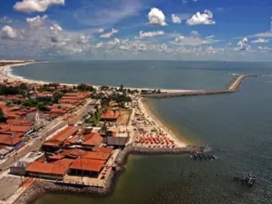 Praia da Redinha (Foto: Canindé Soares)
