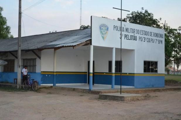 Caso foi atendido pela Polícia Militar de Monte Negro (Foto: Eliete Marques/ G1)