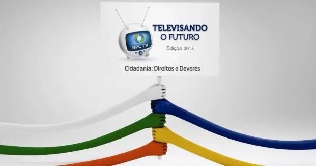 Cidadania: Direitos e Deveres, tema do Televisando o Futuro 2013 (Foto: Divulgação / RPC TV)