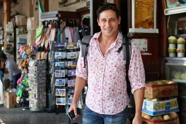 Tuca Andrada é Misael em 'A Lei do Amor' (Foto: Gshow)