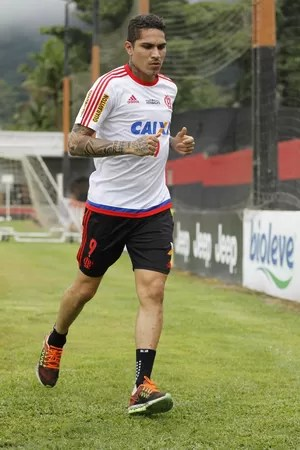 Guerrero Flamengo treino (Foto: Gilvan de Souza/Flamengo)
