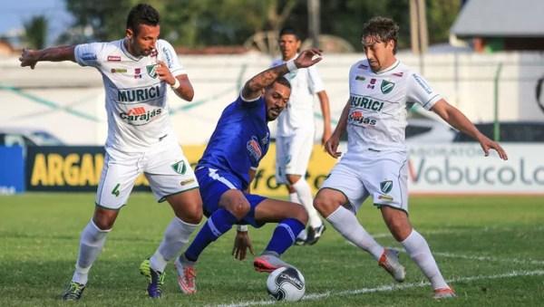 CSA x Murici, em Coruripe (Foto: Ailton Cruz / Gazeta de Alagoas)