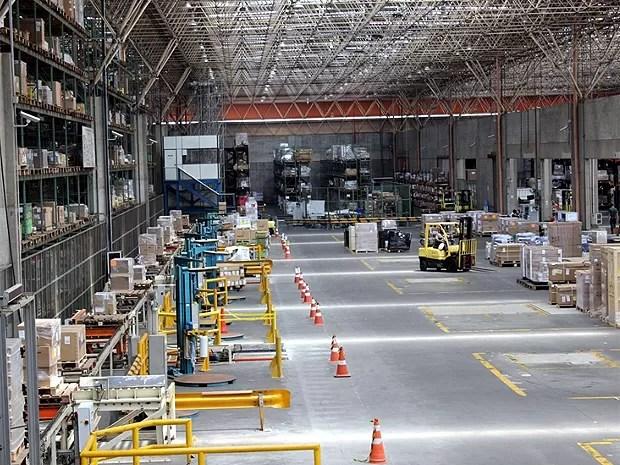 Setor de cargas do Aeroporto Internacional de Viracopos, em Campinas  (Foto: Frederico Andrade/Brasil Viracopos)