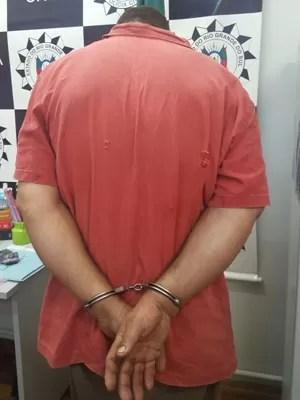 Pai da criança de 7 anos é o suspeito de ter abusado da própria filha (Foto: Polícia Civil/Divulgação)